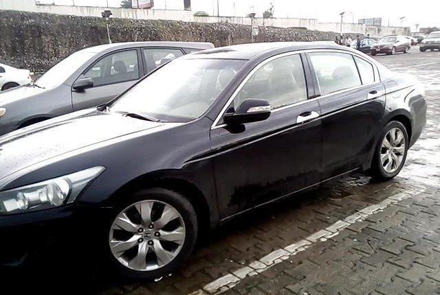 Neat Nigerian used 2008 Honda Accord-8