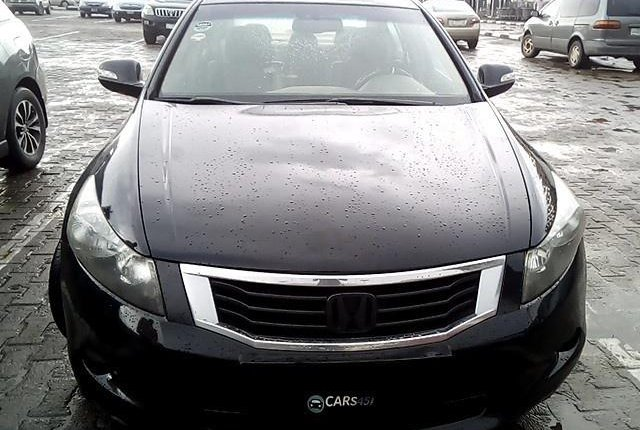 Neat Nigerian used 2008 Honda Accord-12