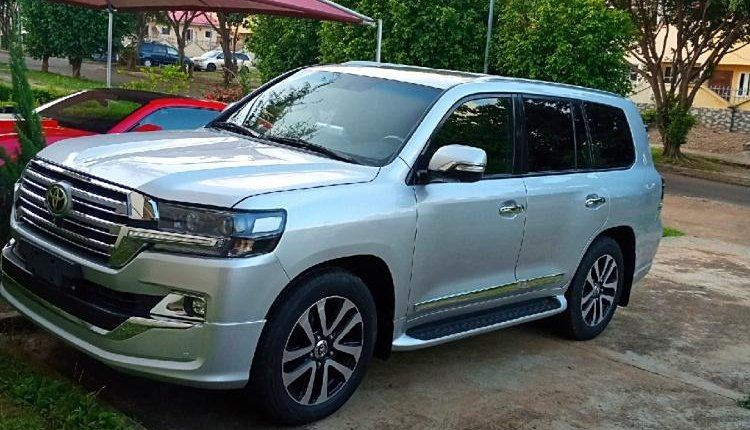 Clean Foreign used 2014 Toyota Land Cruiser-3