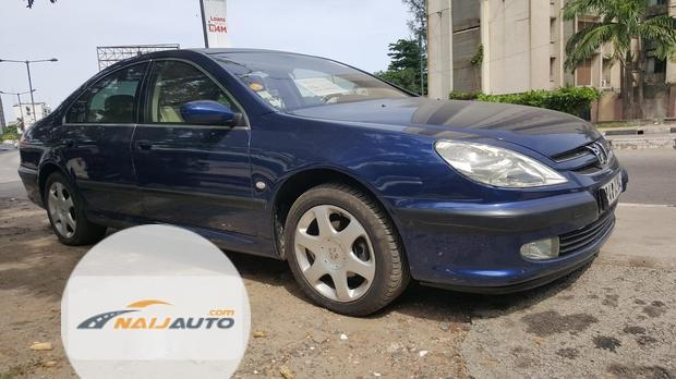 Tokunbo Peugeot 607 Automatic 2004 Model Blue-12