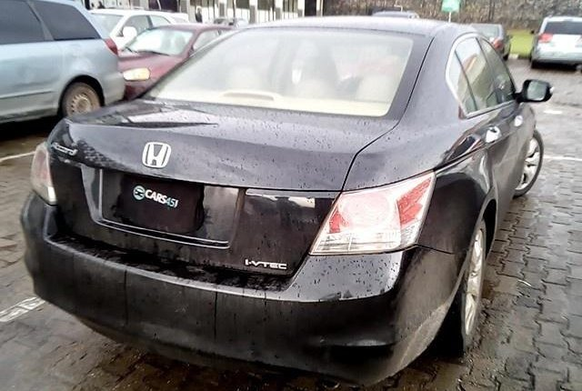Neat Nigerian used 2008 Honda Accord-4