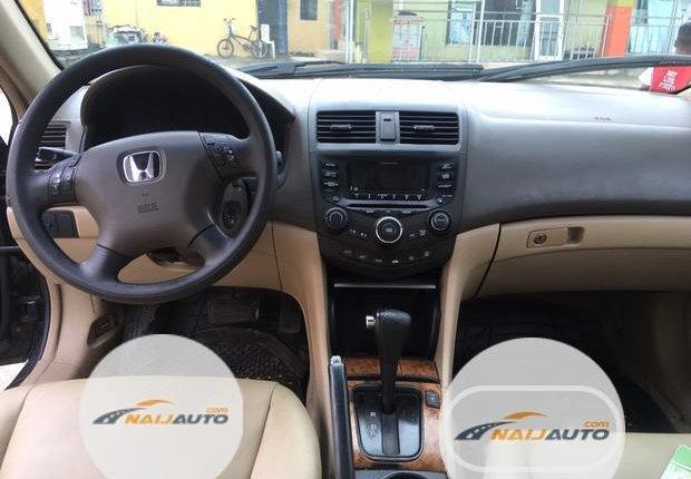 Nigeria Used Honda Accord 2003 Model Black-1