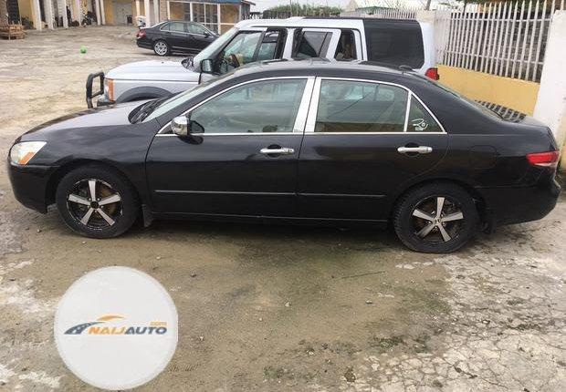 Nigeria Used Honda Accord 2003 Model Black-0