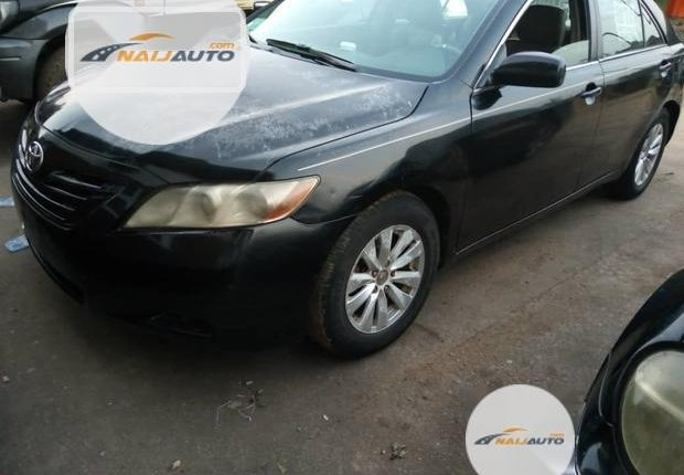 Clean Foreign used Toyota Camry 2008 Black-8