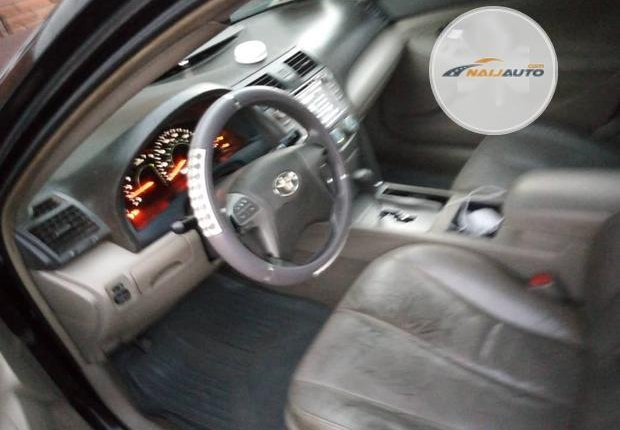 Clean Foreign used Toyota Camry 2008 Black-5