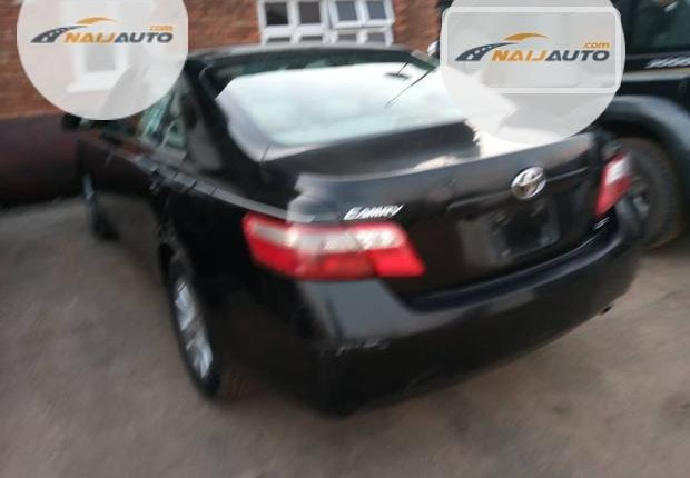 Clean Foreign used Toyota Camry 2008 Black-14