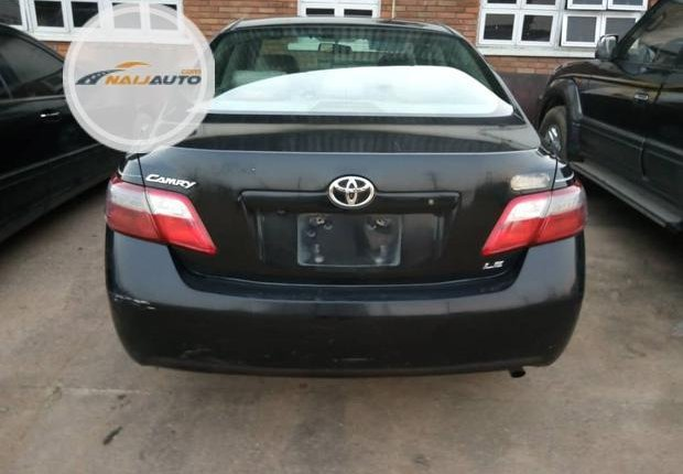 Clean Foreign used Toyota Camry 2008 Black-6