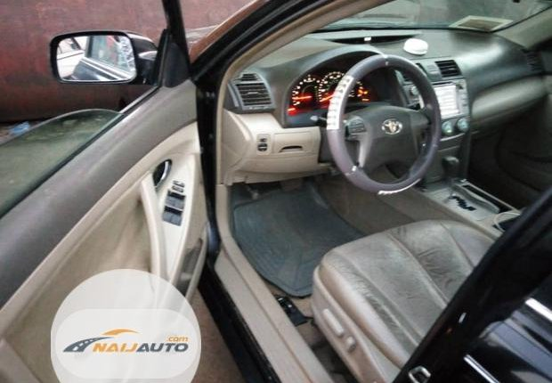 Clean Foreign used Toyota Camry 2008 Black-4