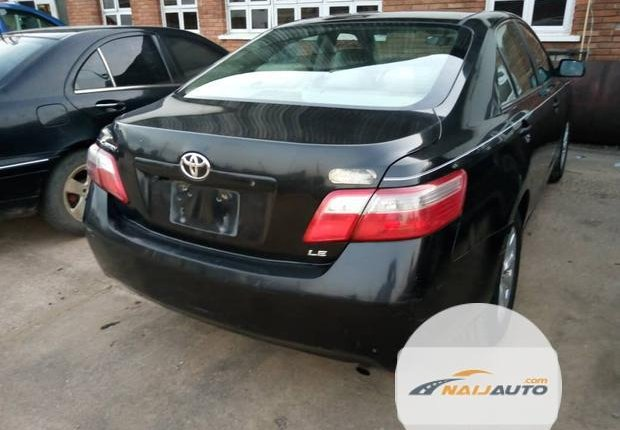 Clean Foreign used Toyota Camry 2008 Black-12