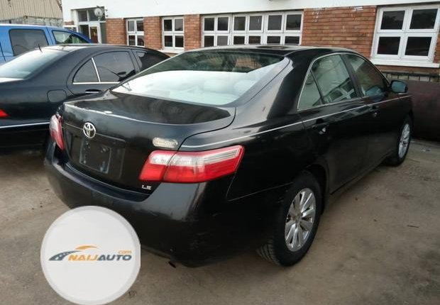 Clean Foreign used Toyota Camry 2008 Black-18
