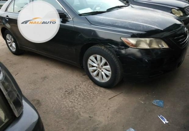 Clean Foreign used Toyota Camry 2008 Black-15