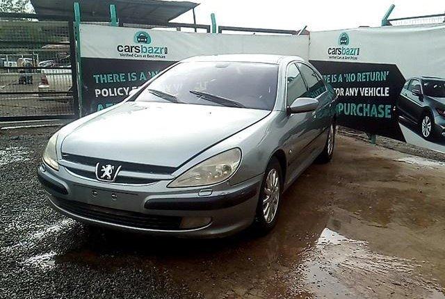 Neat Nigerian used 2009 Peugeot 607-3