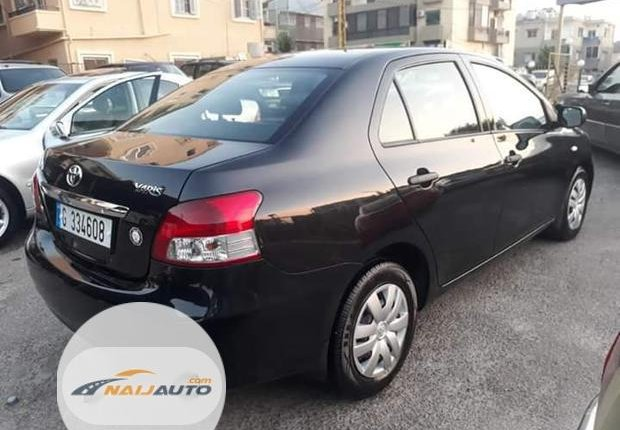 Foreign Used Toyota Yaris 2002 1.4 Black-1