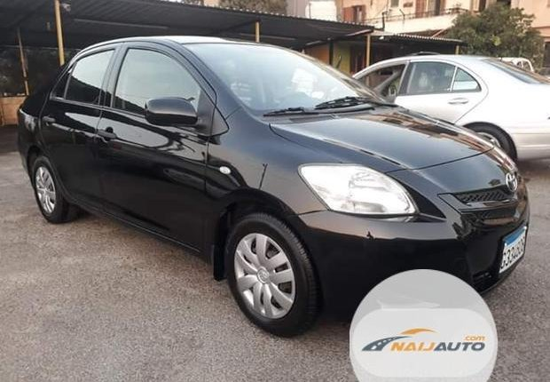 Foreign Used Toyota Yaris 2002 1.4 Black-0