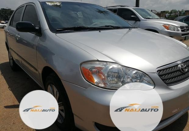 Foreign Used Toyota Corolla 2005 Model Silver-1