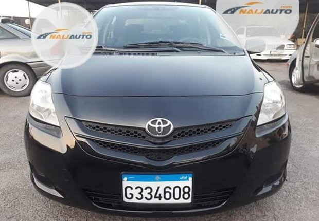 Foreign Used Toyota Yaris 2002 1.4 Black-5