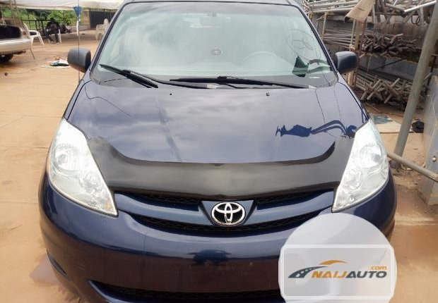 Foreign Used Toyota Sienna 2006 Blue-7
