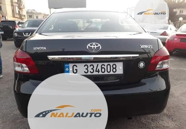 Foreign Used Toyota Yaris 2002 1.4 Black-4