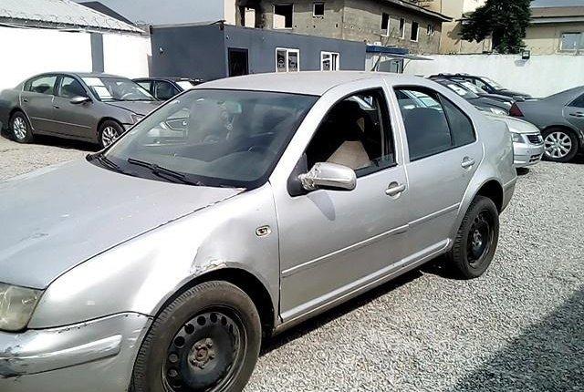 Nigeria Used Volkswagen Bora 2004 Model Silver-8