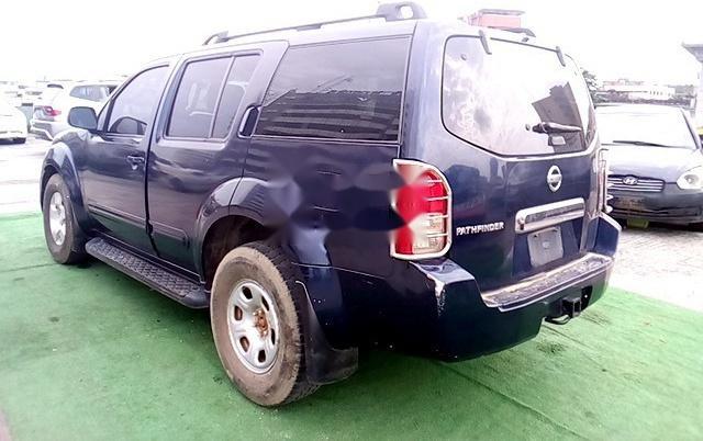 Nigeria Used Nissan Pathfinder 2005 Model Blue-5