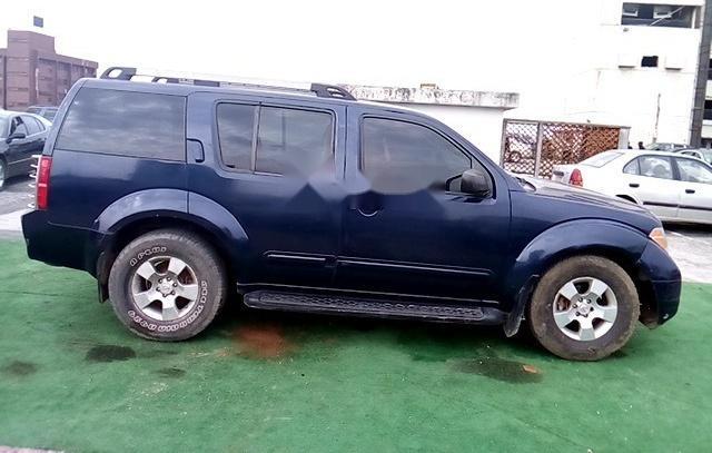 Nigeria Used Nissan Pathfinder 2005 Model Blue-7