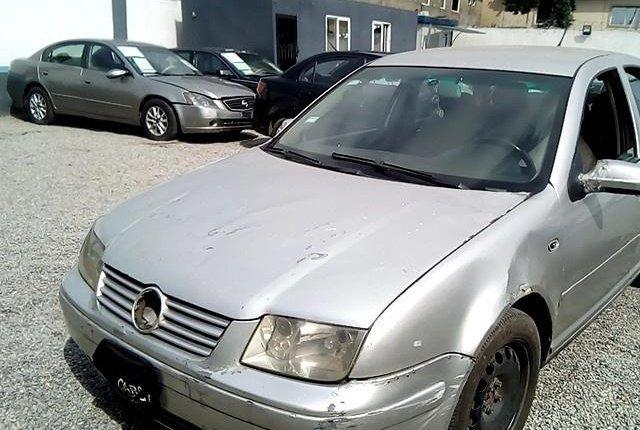 Nigeria Used Volkswagen Bora 2004 Model Silver-11