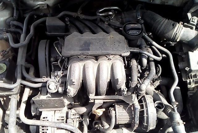 Nigeria Used Volkswagen Bora 2004 Model Silver-1