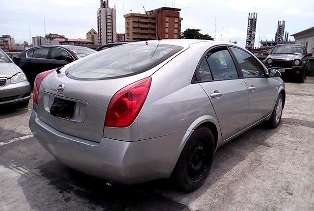 Nigeria Used Nissan Primera 2003 Model Silver-4