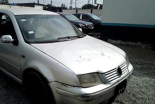 Nigeria Used Volkswagen Bora 2004 Model Silver-9