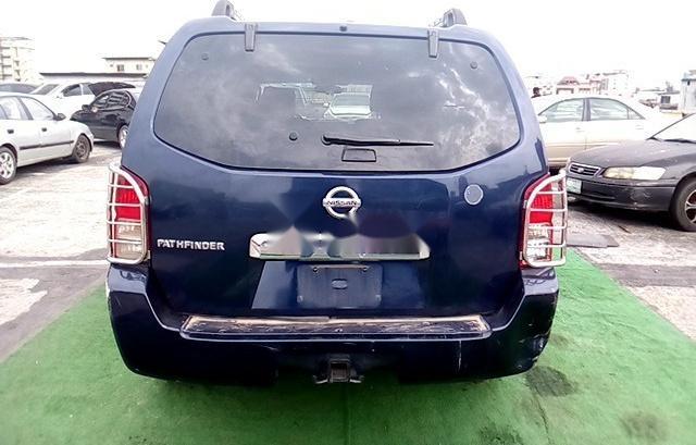 Nigeria Used Nissan Pathfinder 2005 Model Blue-6