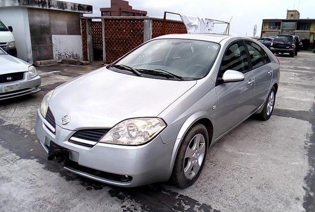 Nigeria Used Nissan Primera 2003 Model Silver-10