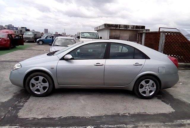 Nigeria Used Nissan Primera 2003 Model Silver-8
