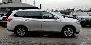 Tokunbo Nissan Pathfinder 35 2013 Model Silver-11