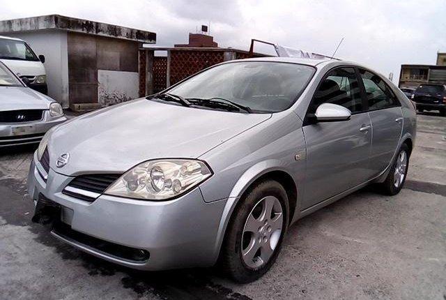Nigeria Used Nissan Primera 2003 Model Silver-13