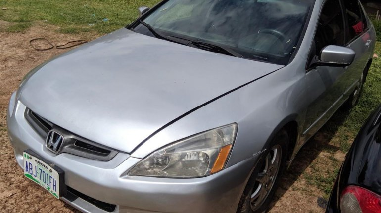 Very Clean Nigerian used 2003 Honda Accord-6