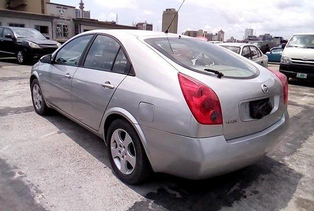 Nigeria Used Nissan Primera 2003 Model Silver-5