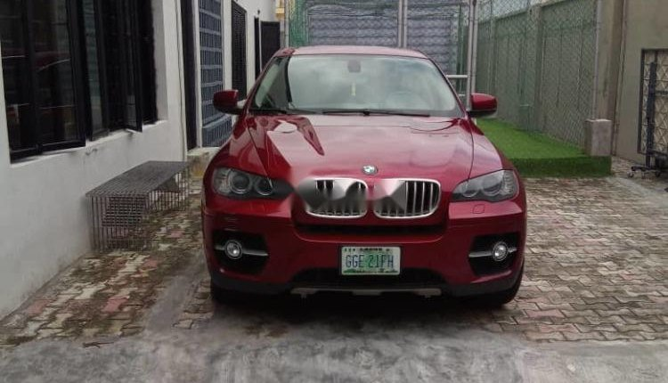 Very Clean Nigerian used 2009 BMW X6-7
