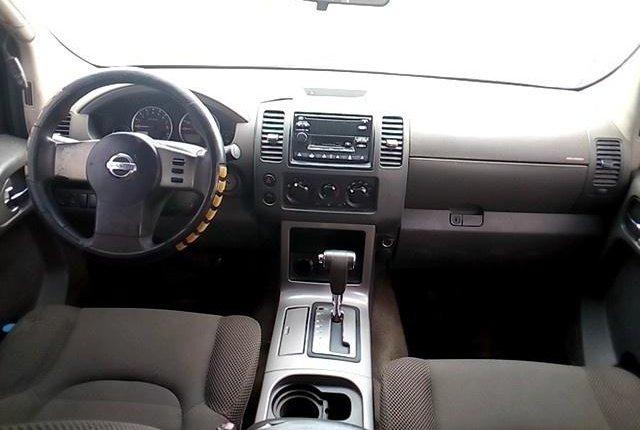 Nigeria Used Nissan Pathfinder 2005 Model Blue-3