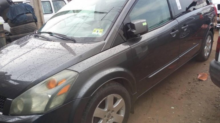 Foreign Used Nissan Quest 2005 Model Grey -2