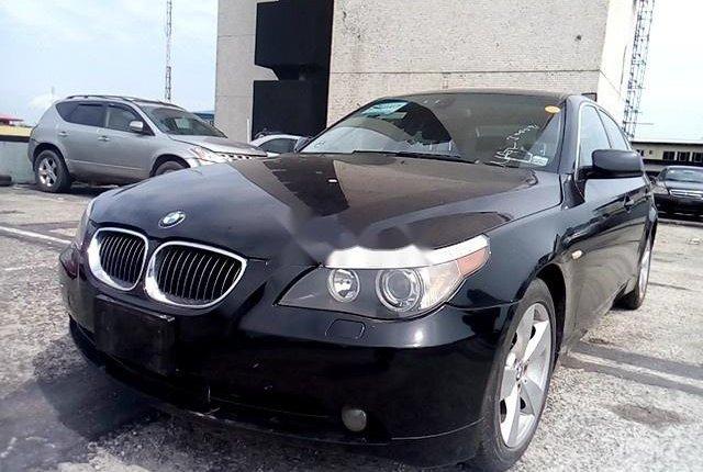 Nigeria Used BMW 5 Series 2006 Model Black-11