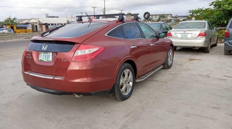 Nigeria Used Honda Accord CrossTour 2010 Model -3
