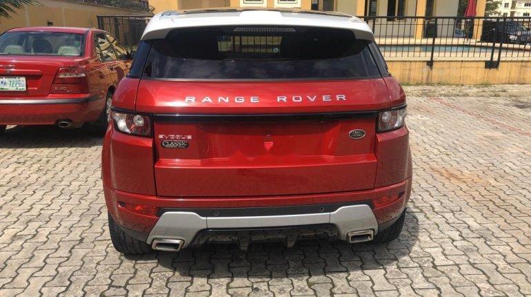 Tokunbo Land Rover Range Rover Evoque 2015 Model Red-4