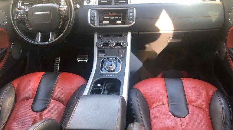 Tokunbo Land Rover Range Rover Evoque 2015 Model Red-0