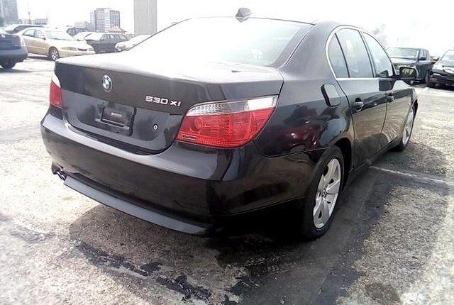 Nigeria Used BMW 5 Series 2006 Model Black-4