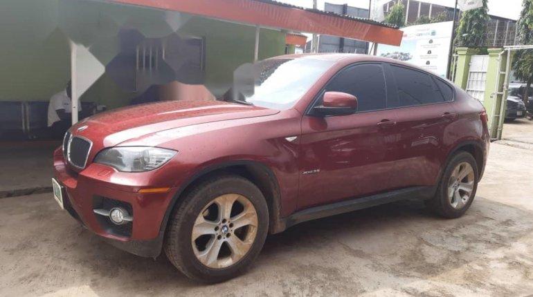 Nigeria Used BMW X6 2011 Model Red-1