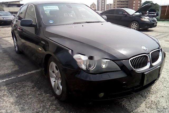 Nigeria Used BMW 5 Series 2006 Model Black-9