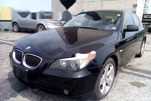 Nigeria Used BMW 5 Series 2006 Model Black-13