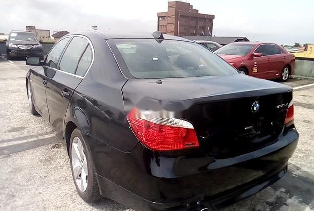 Nigeria Used BMW 5 Series 2006 Model Black-5