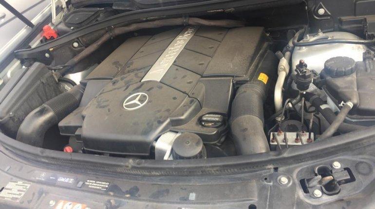 Tokunbo Mercedes-Benz ML 500 2008 Model Silver-0