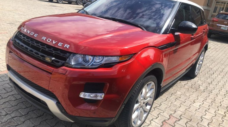 Tokunbo Land Rover Range Rover Evoque 2015 Model Red-2